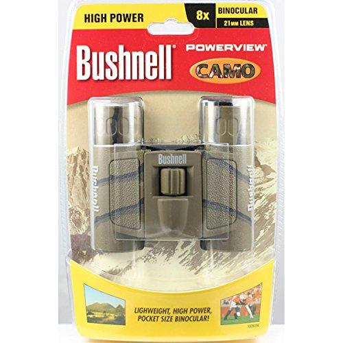 Bushnell Powerview 8x21 Camo Compact Binocuars