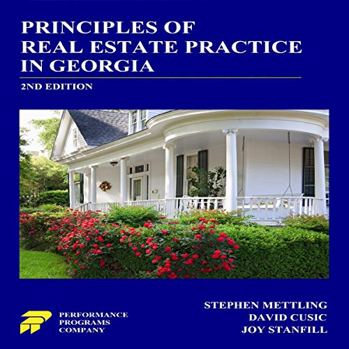Principles of Real Estate Practice in Georgia, 2nd Edition cover art