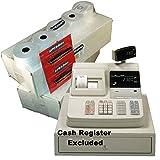 eposbits® Pack de accesorios de marca * * * * Para que se ajuste a Casio CE-2300CE2300caja registradora (36rollos + 2de tinta)
