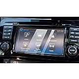 YEE PIN - Pellicola protettiva per navigatore Qashqai J11, protezione per display GPS, vetro temprato, accessorio per auto (7 pollici)