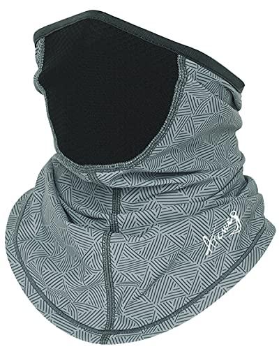 Arcweg Polaina para el cuello, cubierta de la cara de enfriamiento, transpirable, para la cabeza, protección UV, para hombres y mujeres, ciclismo, pesca, senderismo, gris claro