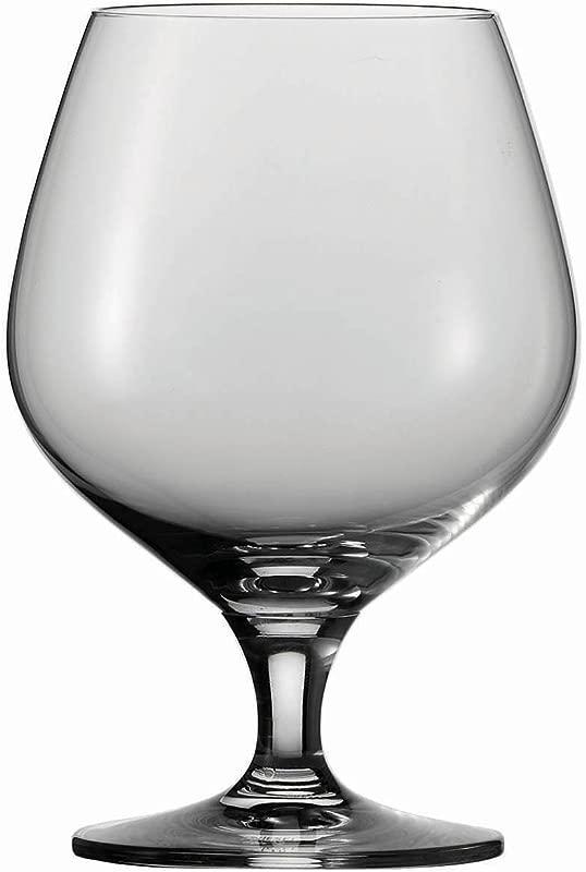 Schott Zwiesel Tritan Crystal Glass Mondial Stemware Collection Brandy Snifter Cocktail Glass 17 3 Ounce Set Of 6