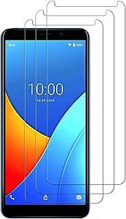 E-Hamii [3-pack 9H härdat okrossbart glas kompatibelt med Wiko Sunny 5, [HD kristallklar] 0,33 mm skärmskydd för Wiko Sunny 5
