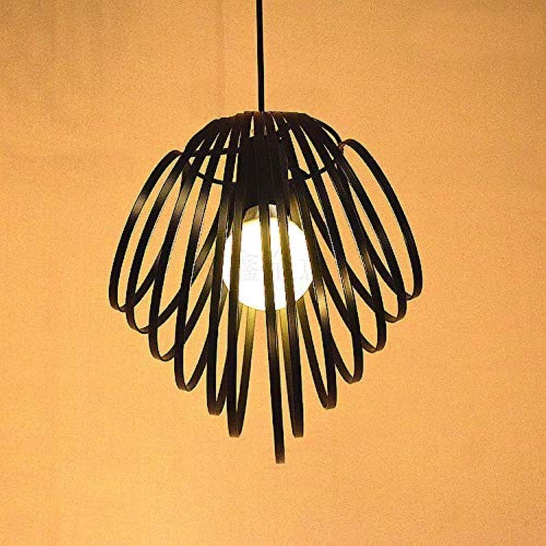 Deckenleuchte Home Retro Kreative Einfache Shell Kronleuchter Persnlichkeit Freizeit Bar supermarkt Pflug Abdeckung Restaurant Licht (Gre  Warme LED Glühbirne)