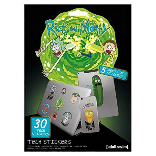 Rick & Morty Tech Sticker Artefacts
