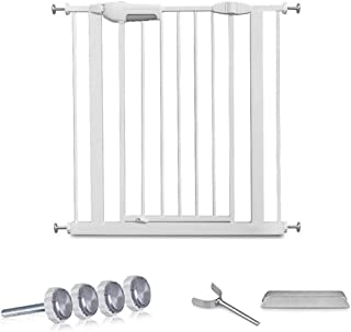Punch-Free Baby Gates for Stairs Fence Pet Isolation Door Fence Dual Lock Self Closing