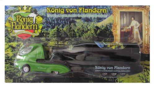 könig von flandern Nr.02a - Erste Augsburger Gasthausbrauerei - Colani Sattelzug mit Flasche