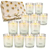 Scented Candles Gift Set for Women Men, Christmas Aromatherapy Candles for Home, Soy Wax Candles Gift Set for Birthday Christmas, Relaxation and Stress Relief, 12 Pack