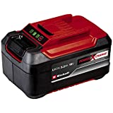 Einhell Batterie 5,2 Ah Power X-Change Plus (Temps de charge 80 min, Tension de 18 V, Capacité 5,2 Ah - Avec témoin de niveau de charge)