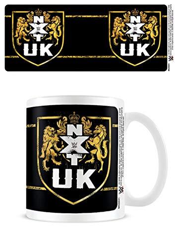 1art1 Lucha Libre - WWE Nxt UK - Shield Taza Foto (9 x 8cm)