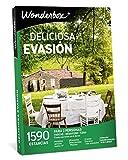 WONDERBOX Caja Regalo -Deliciosa EVASIÓN- 1.590 estancias para Dos Personas