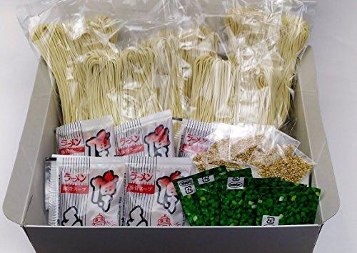 博多の老舗製麺所が作る 博多ラーメン (半生めん) 5食 (濃縮スープ、ネギ、ごま付き) のし可能 (お中元、お歳暮、お祝い、快気祝い等)