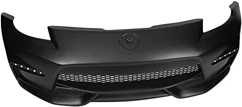 Front Bumper Compatible With 2003-2008 Nissan 350z | NIS Style Unpainted PP Protection Bodykits by IKON MOTORSPORTS