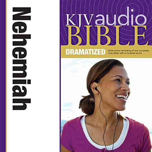 Dramatized Audio Bible - King James Version, KJV: (15) Nehemiah audiobook cover art