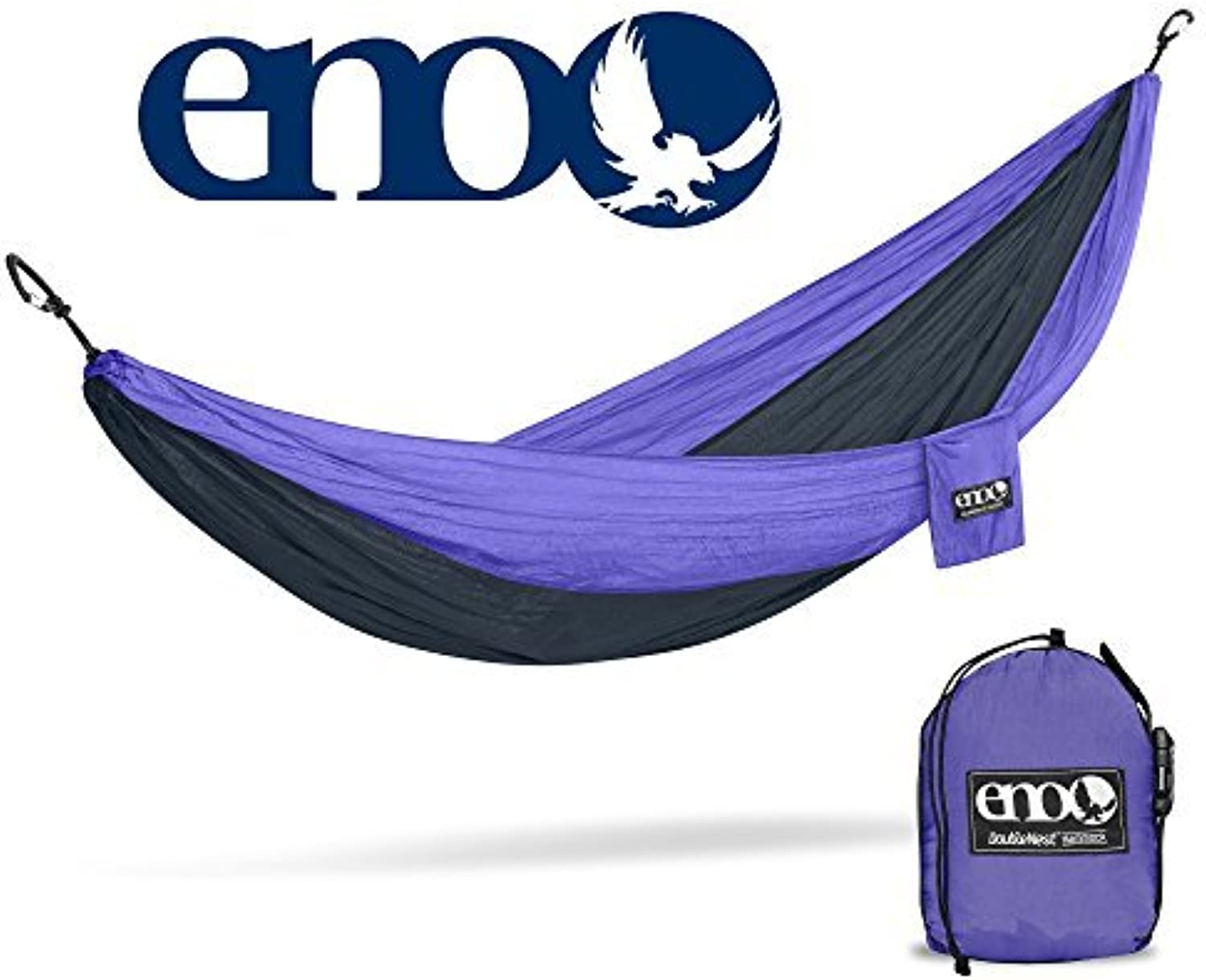 Eagles Nest Outfitters ENO DoubleNest Hammock, Portable Hamm