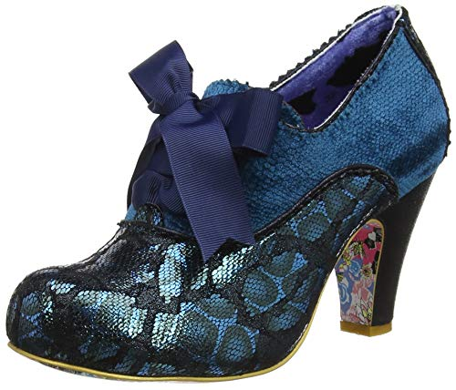 Irregular Choice Damen Summer Berries Pumps, Blau (Blue Multi J), 40 EU