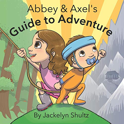 Abbey and Axel's Guide to Adventure audiobook cover art