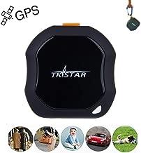 Personal GPS Tracker, Mini Portable GPS Tracker Tracking Device, Real Time Vehicle GPS Tracker, Waterproof & SOS Emergency for Kids Adults Elderly Pet Car Vehicle Bike Assets - TK1000
