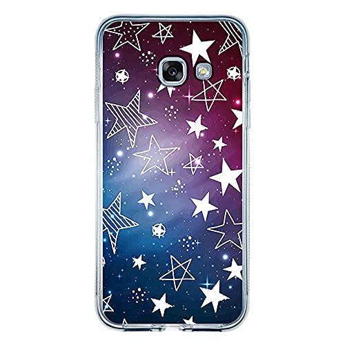 Capa Personalizada Samsung Galaxy A5 2017 - Estrelas - ST02