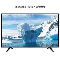 WTTO 75 インチ テレビ画面プロテクター、アンチブルーライト まぶしさなし 目の保護 テレビ保護パネル LED、OLED&QLED 4K HDTV LED/OLED和QLED 4K HDTV,Ultra-clear