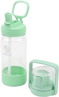【タケヤ公式】ゴーカップ クリアボトル 0.52L 500ml (アイスグリーン) ストロー コップ キッズ 子供 水筒 入園 入学 軽量 軽い プラスチック 透明 可愛い おしゃれ シンプル トライタン