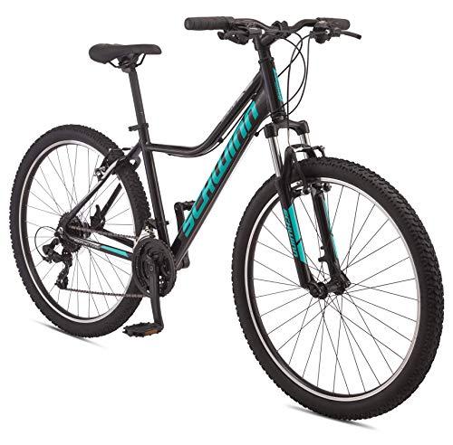 Schwinn Mesa 3 Adult Mountain Bike, 21 speeds, 27.5-inch Wheels, Small Aluminum Frame, Black