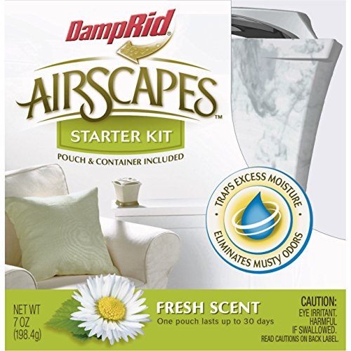 DampRid AS01WMFS Airscapes Dehumidifier Starter Kit, Fresh Scent