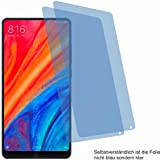 4ProTec I 2X Crystal Clear klar Schutzfolie für Xiaomi Mi Mix 2S Bildschirmschutzfolie Displayschutzfolie Schutzhülle Bildschirmschutz Bildschirmfolie Folie