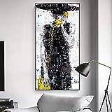 Pintura sin Marco Carteles e Impresiones en Lienzo Arte de la Pared decoración de la Sala Pintura Moda Chica fotosZGQ2057 50X100cm