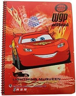 Disney Cars Spiral Notebook Assorted - Assorted Cars Notebook