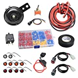 NTHREEAUTO Street Legal Kit Universal DIY Turn Signal Kits with Toggle Switch Compatible with ATV, UTV, SXS, Golf Cart, Dune Buggy or 4x4 Project