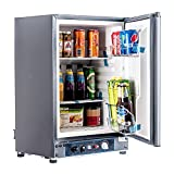 SMETA 12V 110V Gas Propane Refrigerator RV Truck Portable fridge...