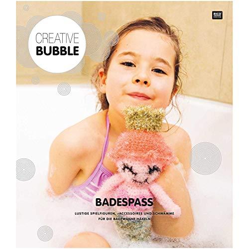 Rico Design GmbH Crochet pour éponges de toilette, plaisir pour le bain – Instructions en langue allemande