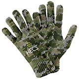 HECS Hunting HECStyle Stretch Fit Gloves - Duck, Turkey, and Deer Hunting Accessories and Clothing - Anywhere - Small