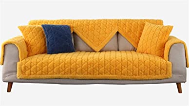 Liveinu Multi-Size Plush Warm Couch Cover Non-Slip Mat Cover Pad Quilted Furniture Protector Slipcover Japanese Tatami Rug...