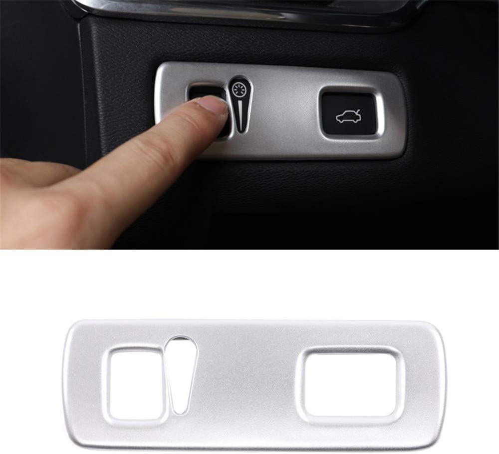 For XC40 2018-2020 ABS Chrome Front Fog Lamp Fog Light Cover Trim 2pcs Car Stytle Accessoies