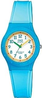 Q&Q Women's White Dial Resin Band Watch - VR75J001Y