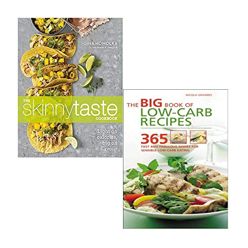 The Skinnytaste Cookbook , The Big Book of Low-Carb Recipes 2 Books Collection Set