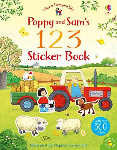 Poppy and Sam's 123 Sticker Book (Farmyard Tales)