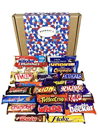 The Ultimate Chocolate Selection Gift Box - Includes 22 Of Your Favourites From Cadbury's, Nestle, Mars & More - Hamper Exclusive To Burmont's