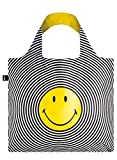 LOQI Artist Smiley Spiral Bag Bag Strandtasche, 50 cm, 20 liters, Mehrfarbig (Multicolour)