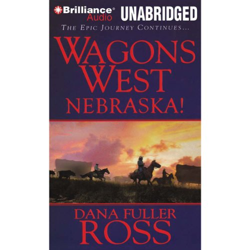 Wagons West Nebraska! audiobook cover art