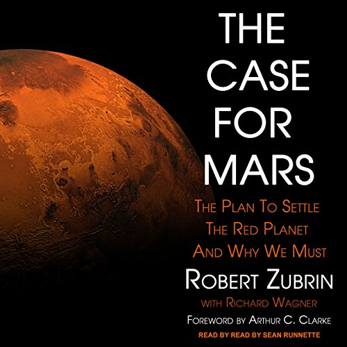 The Case for Mars audiobook cover art