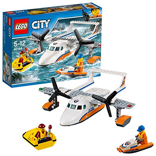 LEGO City - Guardacostas: Avión de Rescate marítimo (60164)