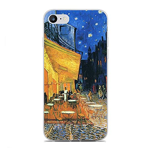 GJGSWY Case for Apple iPhone 6/6s, Gogh-Van Oil Painting 0 Soft TPU Clear Silikon Coque Slim Liquid Anti-Slip