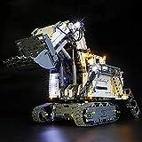 BRIKSMAX Kit de Iluminación Led para Lego Technic Excavadora Liebherr R 9800,Compatible con Ladrillos de Construcción Lego Modelo 42100, Juego de Legos no Incluido