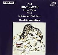 Hindemith;Cmplt Piano Wks 3