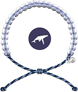 4Ocean Bracelet with Charm Made from 100% Recycled Material Upcycled Jewelry (Whale)