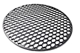Aura Outdoor Products Cast Iron Grill Grate for 22 Inch Weber Kettle Grill - Works Great on The Weber Kettle, Weber Performer, Barrel Grills, Rec Tec Bullseye - Better Sear Marks