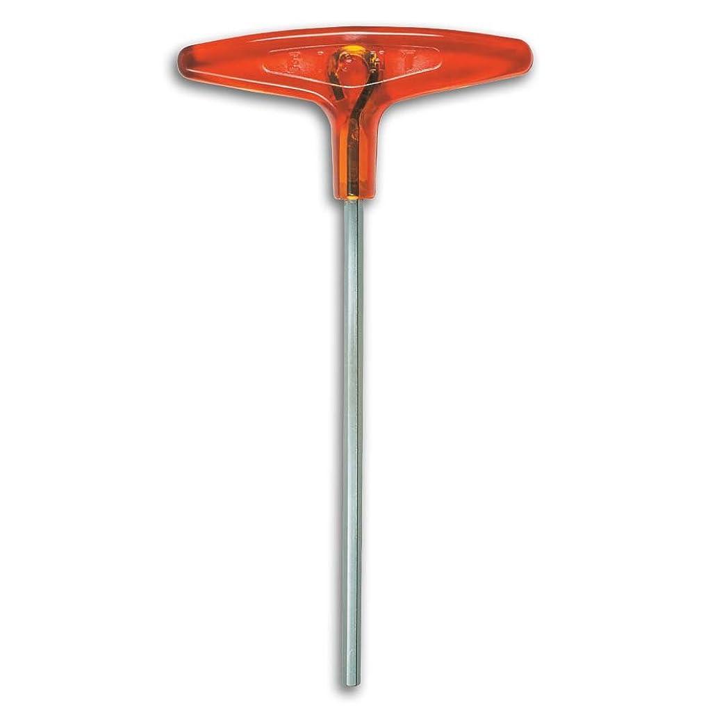 上下するジュラシックパーク改修エイト T型 六角棒スパナ 樹脂ハンドル 単品 018-5H